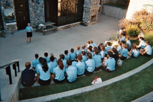 Lynn Swanson presenting Summer Dance to students last summer at Interlochen Arts Camp in Michigan.
