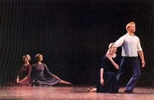 """Dark Elegies"" - ABT - Fall, 2005. Julie Kent and Grant Delong. Photo courtesy of Sally Brayley Bliss"