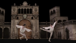 Final piece of the evening - Roberto Bolle in Prototype; Photo: xChanges vfx