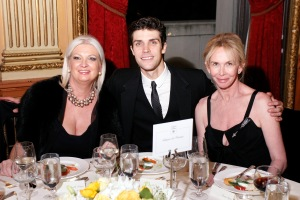 President of Acqua di Parma Gabriella Scarpa, dancer/artistic director Roberto Bolle and actress/producer Trudie Styler attend Acqua di Parma gala event