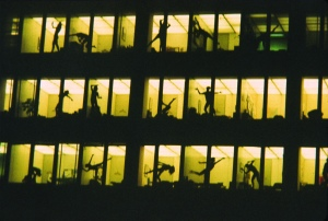 Open Window Dance-Seagram Building. Celebration NYC 1972; Photo courtesy: Marilyn Wood.