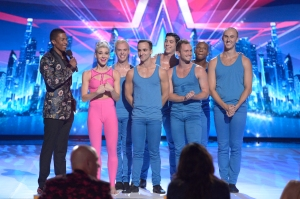 AMERICA'S GOT TALENT -- (l-r) Nick Cannon, Bad Boys of Ballet -- (Photo by: Virginia Sherwood/NBC)